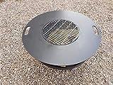 Grillplatte   Plancha   Grillring   Feuerplatte
