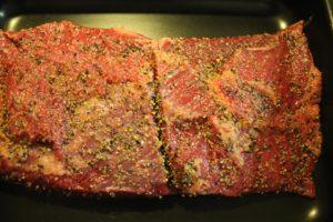 Beef Brisket fertig gewürzt