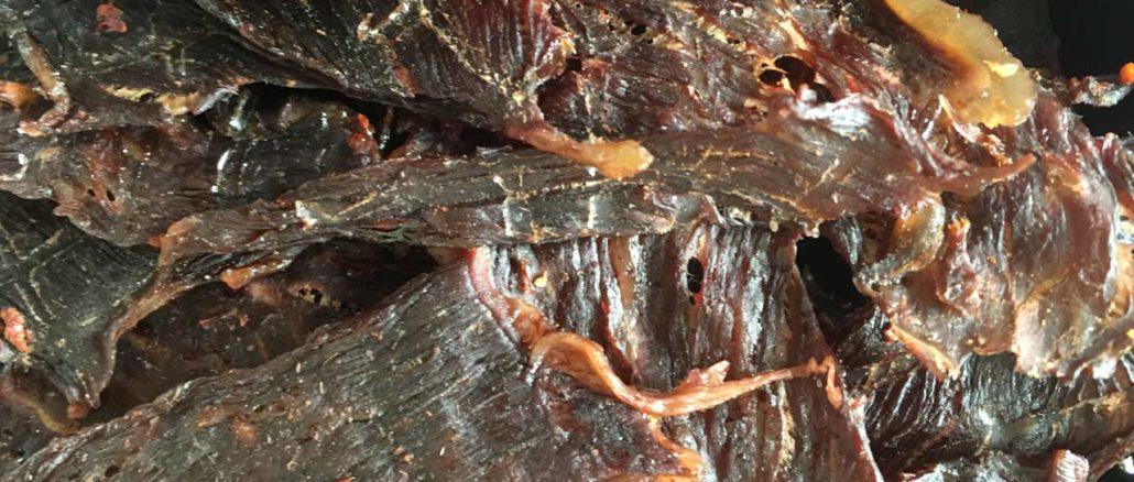 Beef Jerky nach Thai Art (scharf)