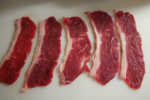 Roastbeef für Beef Jerky