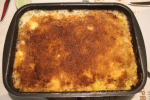 Mac and Cheese als Beilage zum grillen