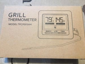 Topop Barbeque Grill Thermometer Verpackung