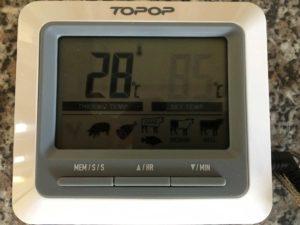 Topop Grillthermometer Einstellungen