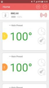 100 Grad Test mit dem Inkbird IBT-6X