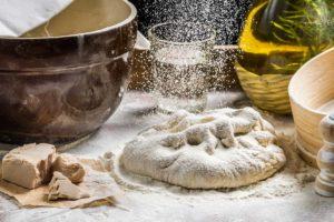 Pizzateig für Grill oder Raclette