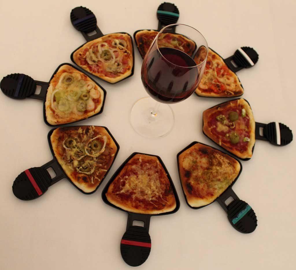 Variationen von Raclettepizza