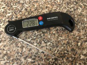 Inkbird Einstichthermometer Test