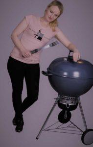 Anja Auer, die Frau am Grill