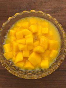 Mangoconfit selbst gemacht