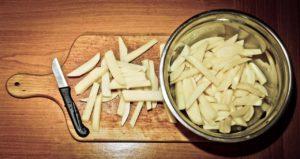 Kartoffel für Heissluftfritteuse