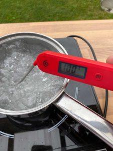 InkBird BG-HH1C Temperaturtest